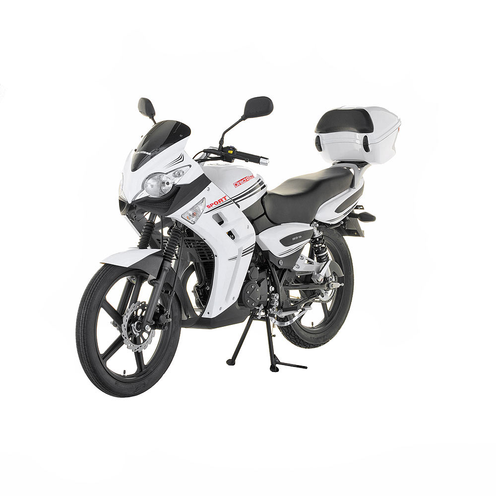 125cc motorbike 125cc direct bikes sports rs motorbike white. Black Bedroom Furniture Sets. Home Design Ideas