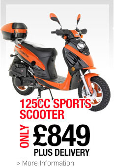 125cc City Scooter
