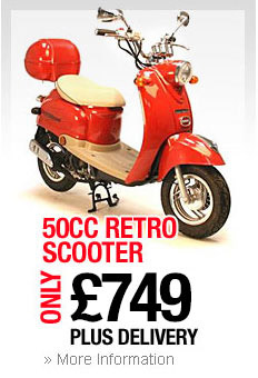 50cc Retro Scooter