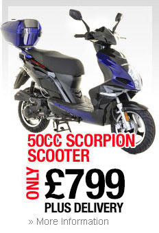 50cc Scorpion Scooter