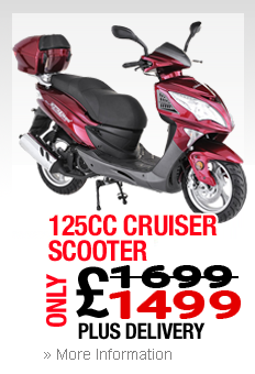 125cc Cruiser Scooter