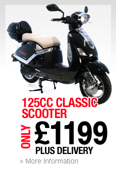 125cc Classic Scooter