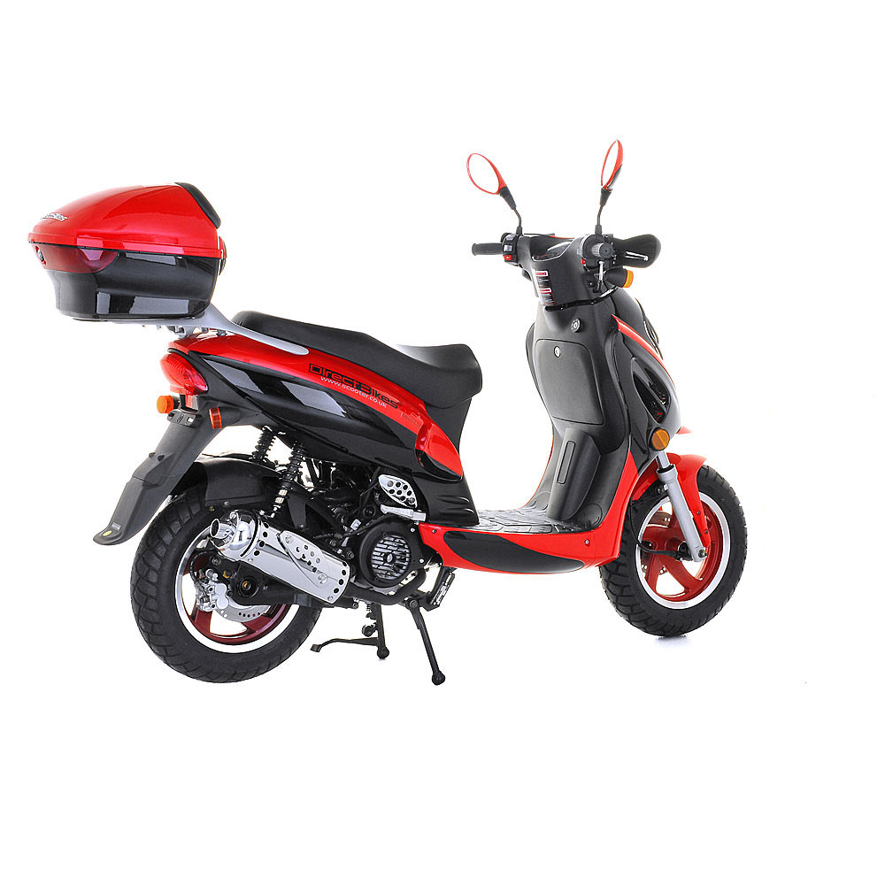 Direct Bikes Review   Review scooter co uk   Red