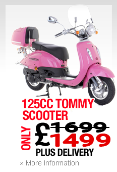 125cc Tommy Scooter