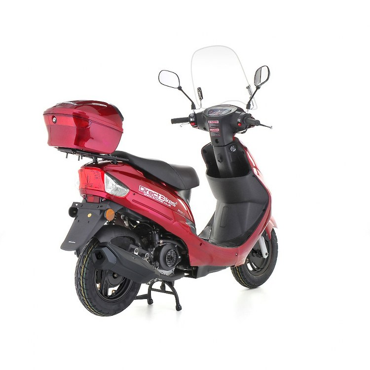 50cc scooter direct bikes 50cc sports scooters red. Black Bedroom Furniture Sets. Home Design Ideas