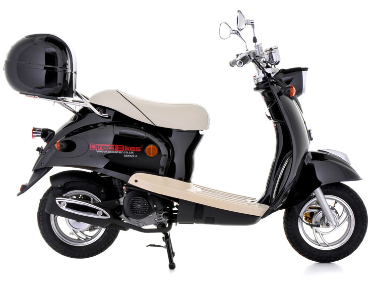 50cc scooter buy direct bikes retro 50cc scooters. Black Bedroom Furniture Sets. Home Design Ideas