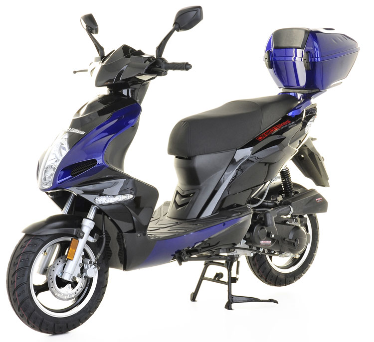 50cc scooter buy direct bikes scorpion 50cc scooters blue. Black Bedroom Furniture Sets. Home Design Ideas