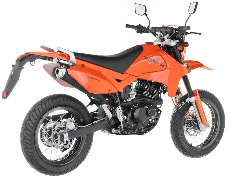 125cc motorbike 125cc direct bikes enduro s motorbike orange. Black Bedroom Furniture Sets. Home Design Ideas