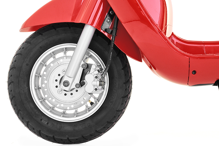 Petrol Scooter 125cc Milan Wheel
